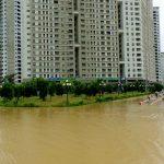 Người dân khổ vì khu chung cư, khu đô thị ngập nước